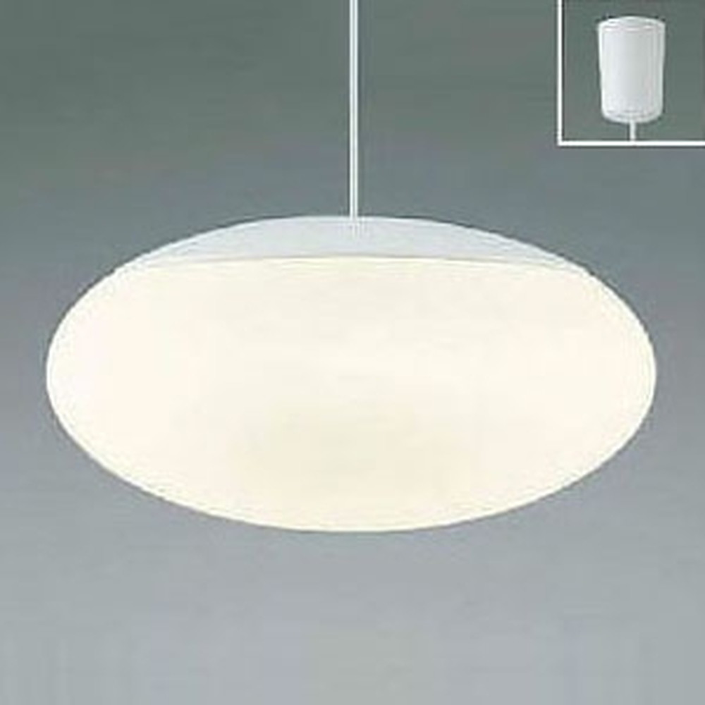 コイズミ照明 LED一体型ペンダントライト 《KUMO》 ~14畳用 電球色・昼光色 調光・調色タイプ リモコン付 AP44866L