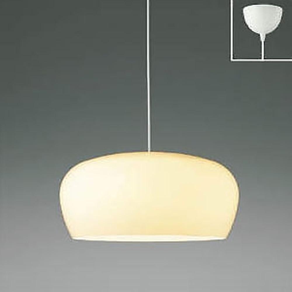 コイズミ照明 LED一体型ペンダントライト 《Simple&Quality》 フランジタイプ 白熱球60W×3灯相当 電球色 白 AP45307L