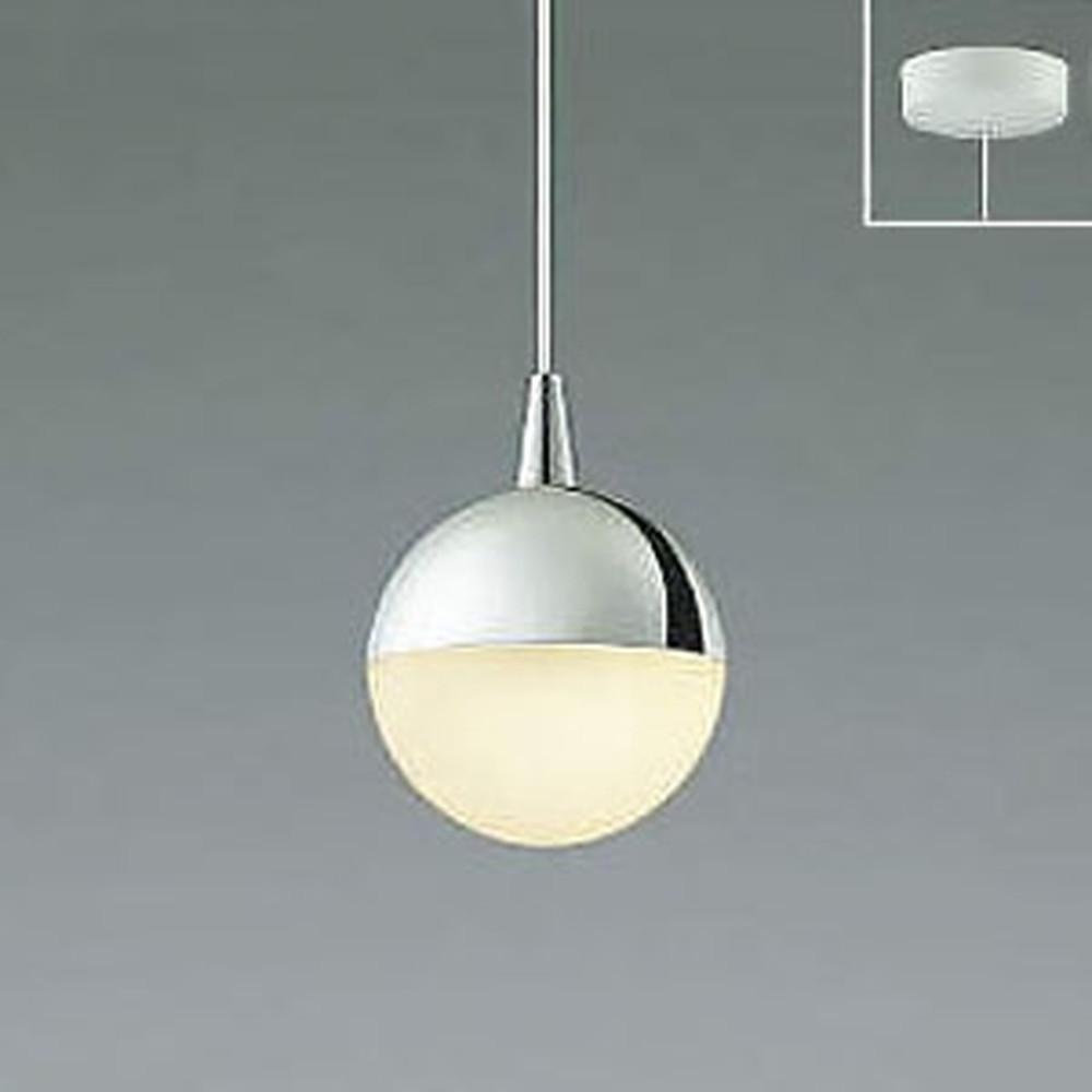 コイズミ照明 LED一体型ペンダントライト 《Limini》 フランジタイプ 白熱球60W相当 電球色 クロム AP45316L