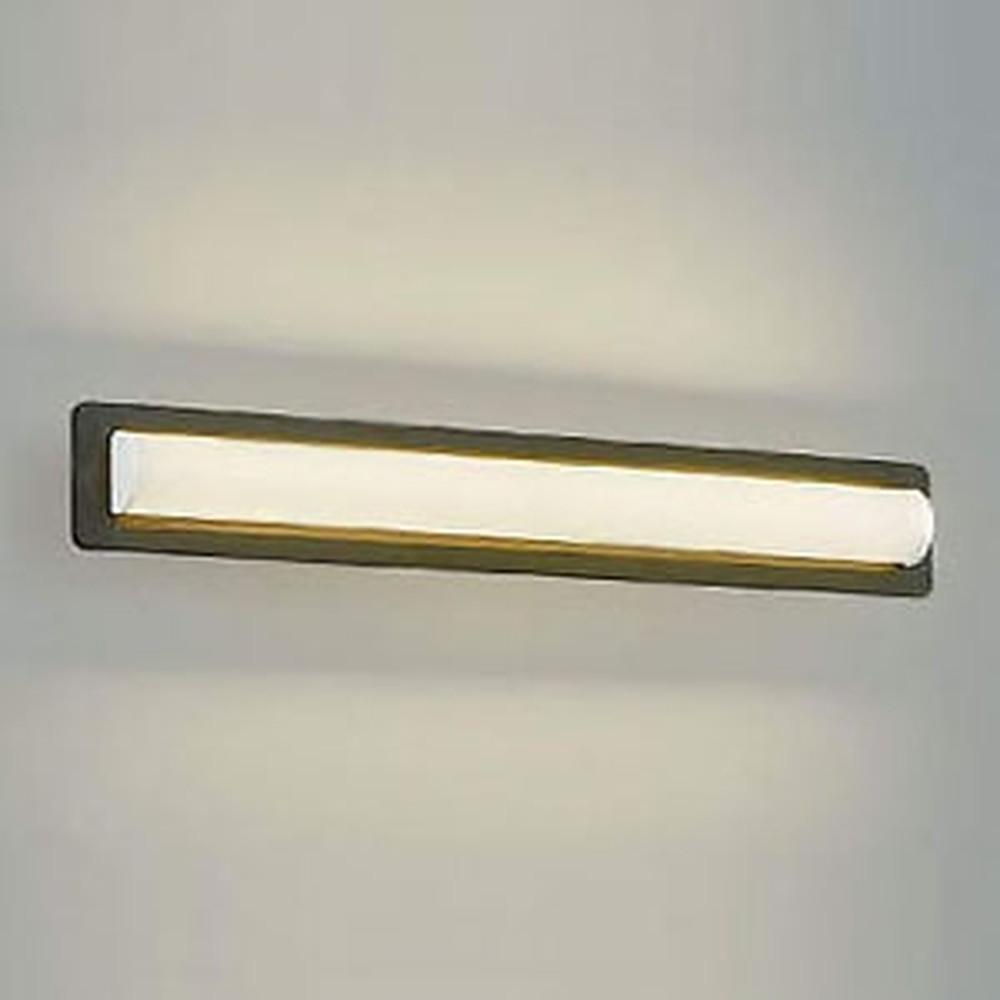 コイズミ照明 LED一体型鏡上灯 天井・壁面・傾斜天井取付用 FL20W相当 電球色 シックブラウン AB45426L