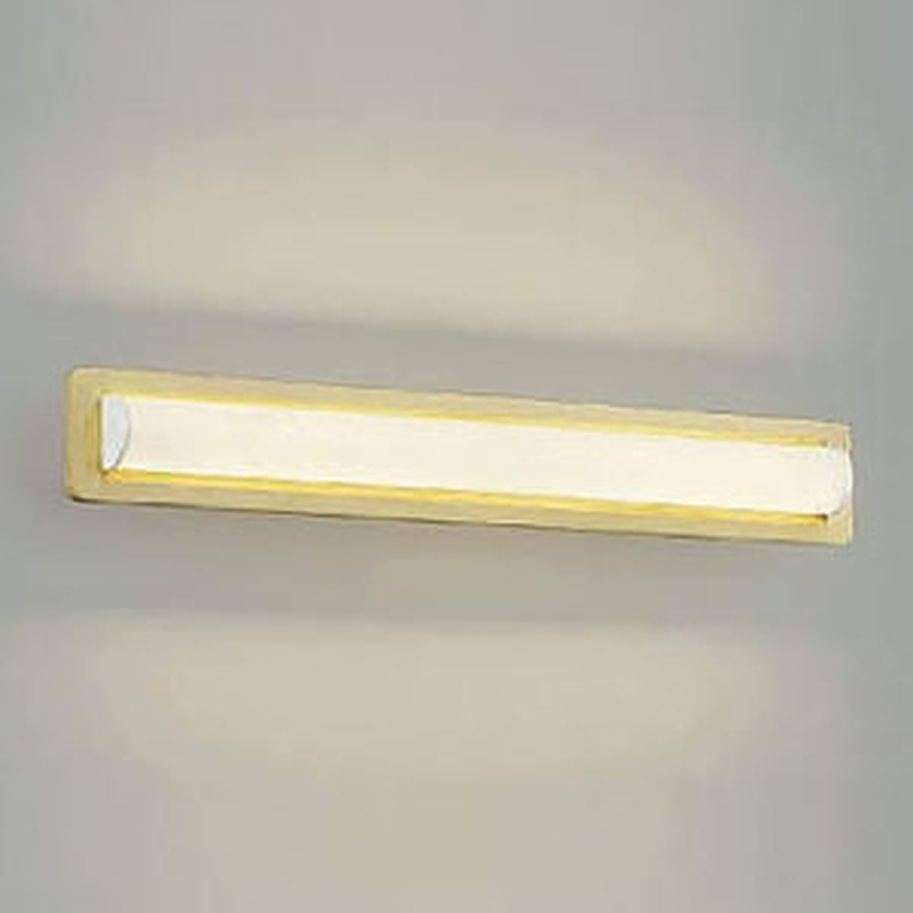コイズミ照明 LED一体型鏡上灯 天井・壁面・傾斜天井取付用 FL20W相当 電球色 ナチュラルウッド AB45427L