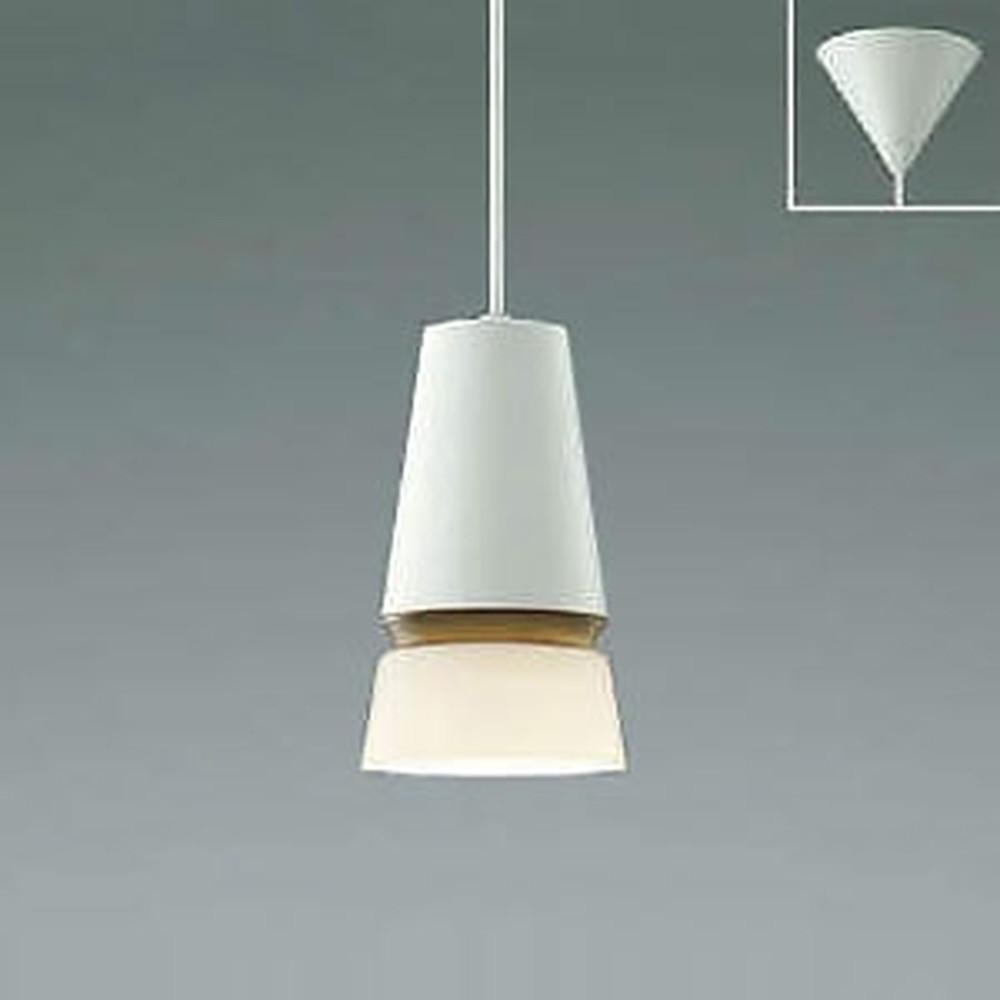 コイズミ照明 LED一体型ペンダントライト フランジタイプ 白熱球60W相当 電球色~昼白色 調光・調色タイプ ウォームブラウン AP45893L