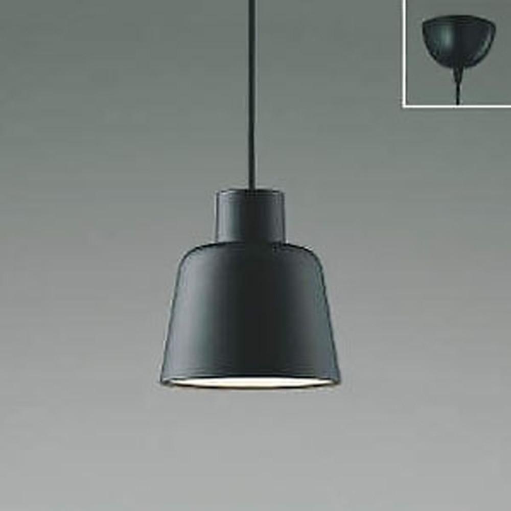 コイズミ照明 LED一体型ペンダントライト フランジタイプ 白熱球60W相当 電球色~昼白色 調光・調色タイプ マットブラック AP45901L