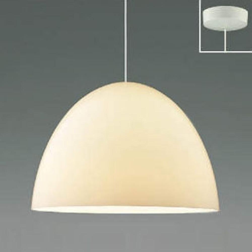 コイズミ照明 LED一体型ペンダントライト 《Simple&Quality》 フランジタイプ 白熱球100W相当 電球色 白 AP46937L