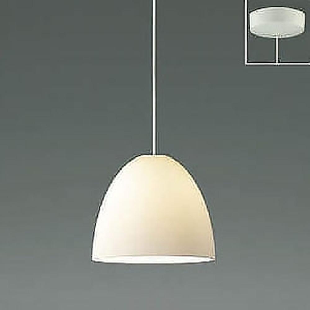 コイズミ照明 LED一体型ペンダントライト 《Simple&Quality》 フランジタイプ 白熱球60W相当 電球色 白 AP46938L