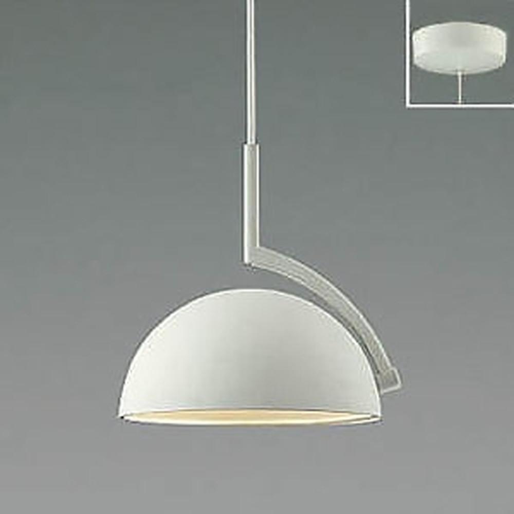 コイズミ照明 LED一体型ペンダントライト 《d-pendant》 フランジタイプ 白熱球60W相当 電球色 プレミアムマットホワイト AP46943L