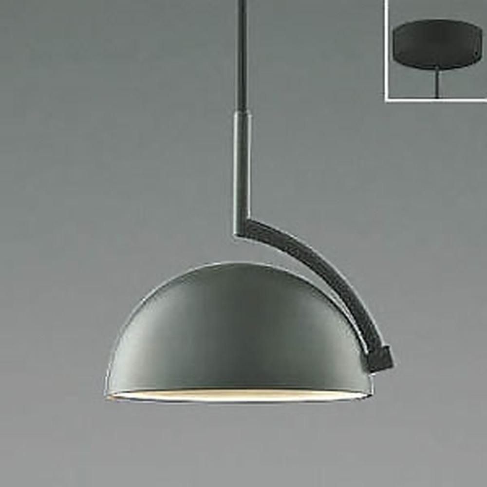 コイズミ照明 LED一体型ペンダントライト 《d-pendant》 フランジタイプ 白熱球60W相当 電球色 マットチャコールグレー AP46944L