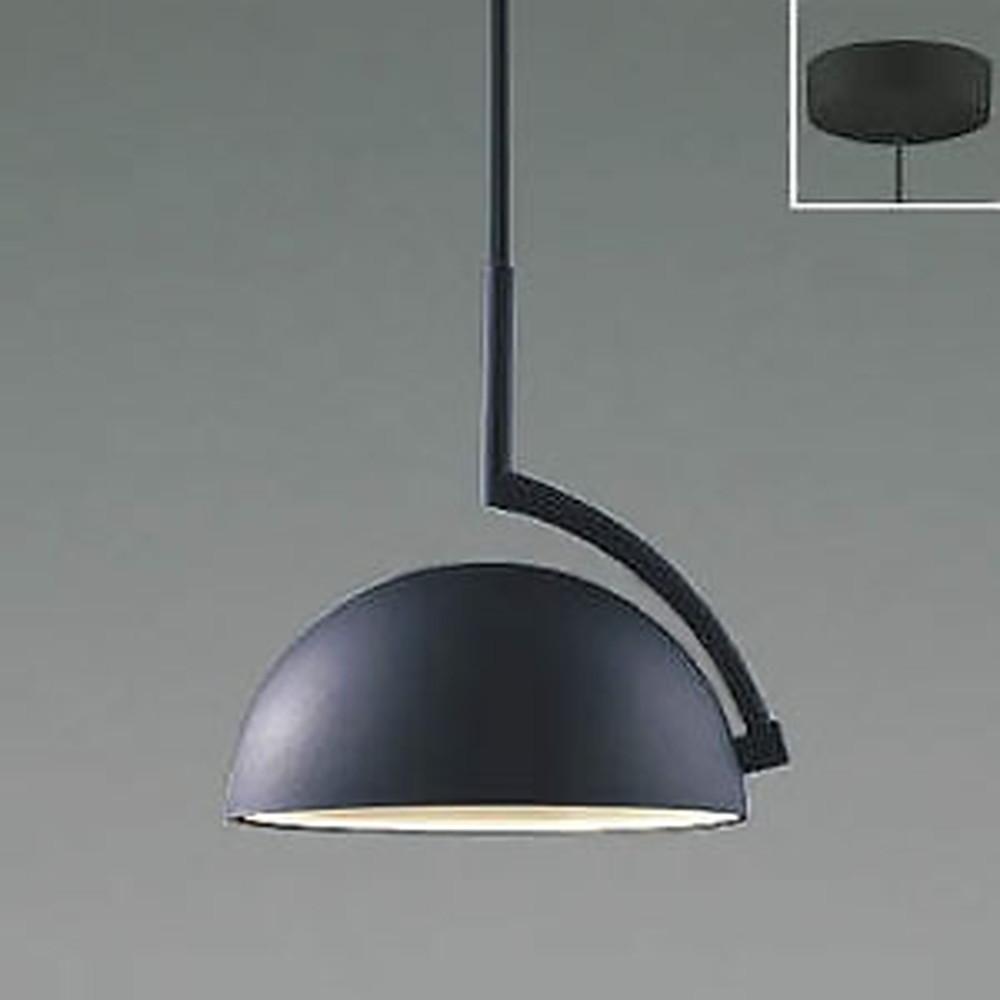 コイズミ照明 LED一体型ペンダントライト 《d-pendant》 フランジタイプ 白熱球60W相当 電球色 マットブラック AP46945L