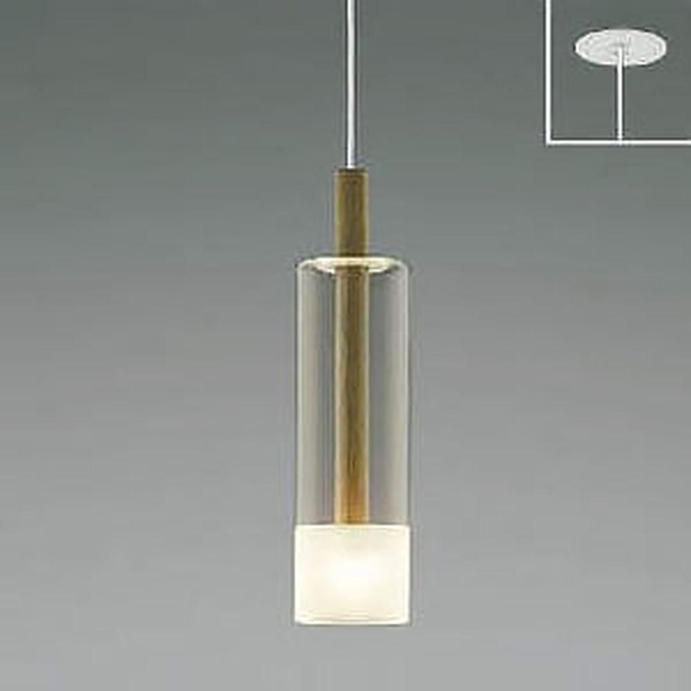 コイズミ照明 LED一体型ペンダントライト 《Walnut》 埋込取付タイプ 埋込穴φ75mm 白熱球60W相当 電球色 AP46948L
