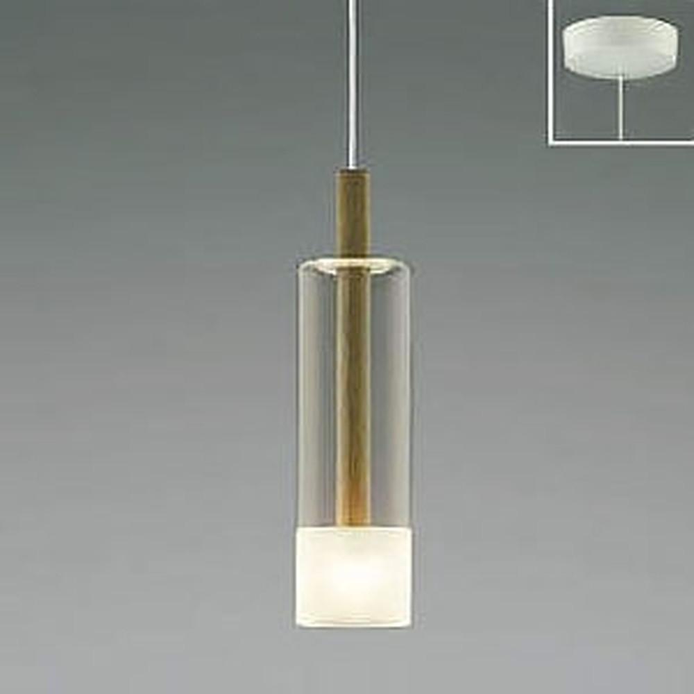 コイズミ照明 LED一体型ペンダントライト 《Walnut》 フランジタイプ 白熱球60W相当 電球色 AP46949L
