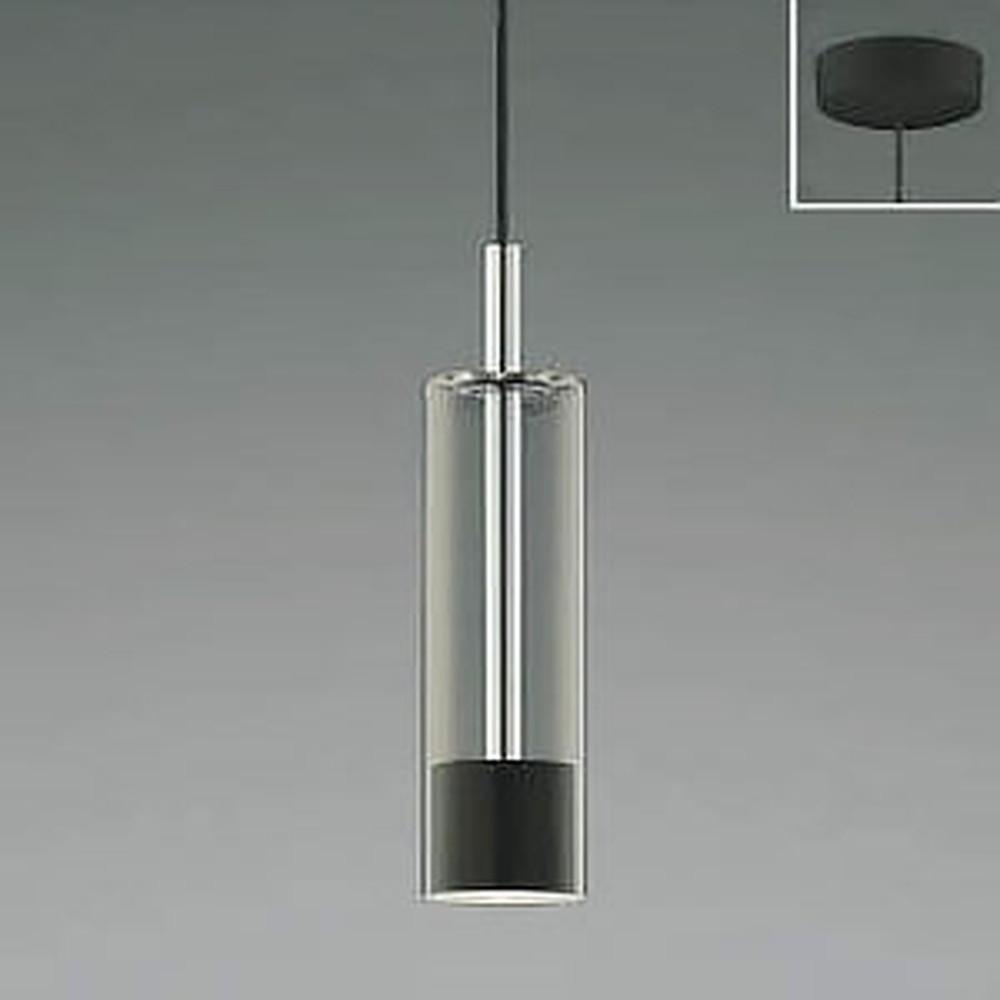 コイズミ照明 LED一体型ペンダントライト 《Chrome×Black》 フランジタイプ 白熱球60W相当 電球色 AP46953L