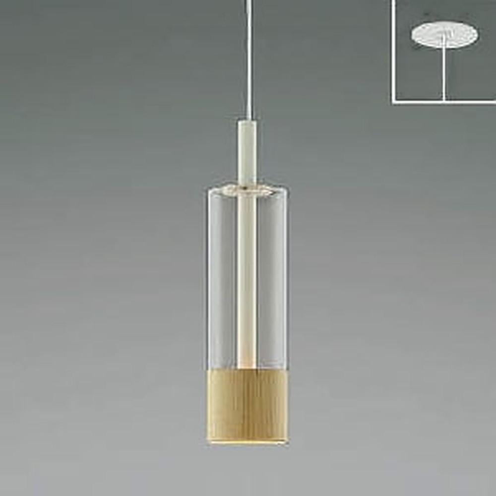 コイズミ照明 LED一体型ペンダントライト 《White×MP》 埋込取付タイプ 埋込穴φ75mm 白熱球60W相当 電球色 AP46954L