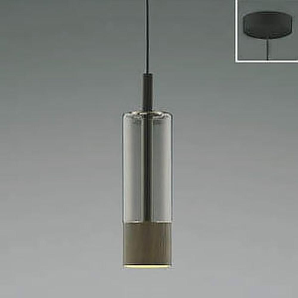 コイズミ照明 LED一体型ペンダントライト 《Black×WN》 フランジタイプ 白熱球60W相当 電球色 AP46957L