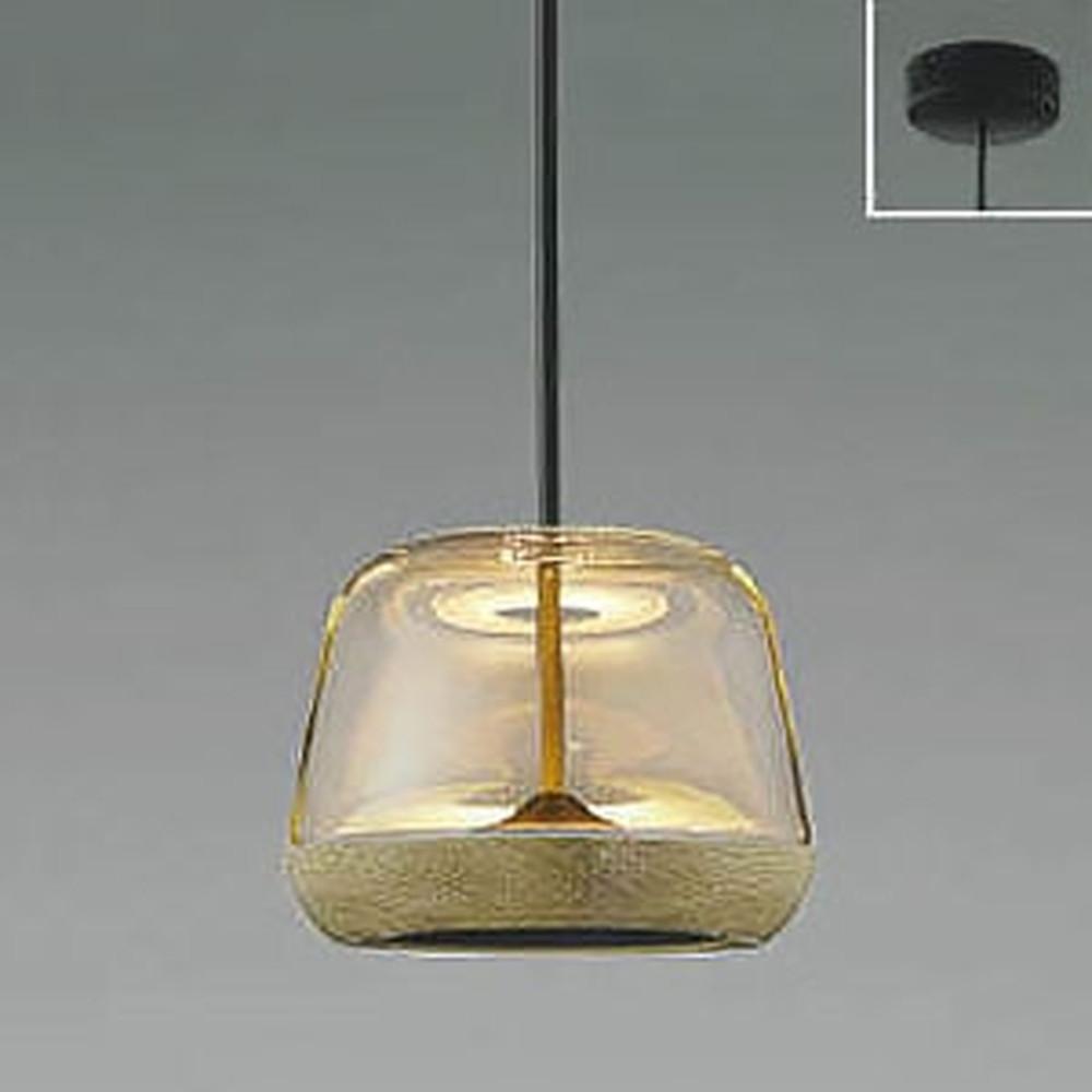 コイズミ照明 LED一体型ペンダントライト 《Clear×Oak》 フランジタイプ 白熱球60W相当 電球色 AP47552L