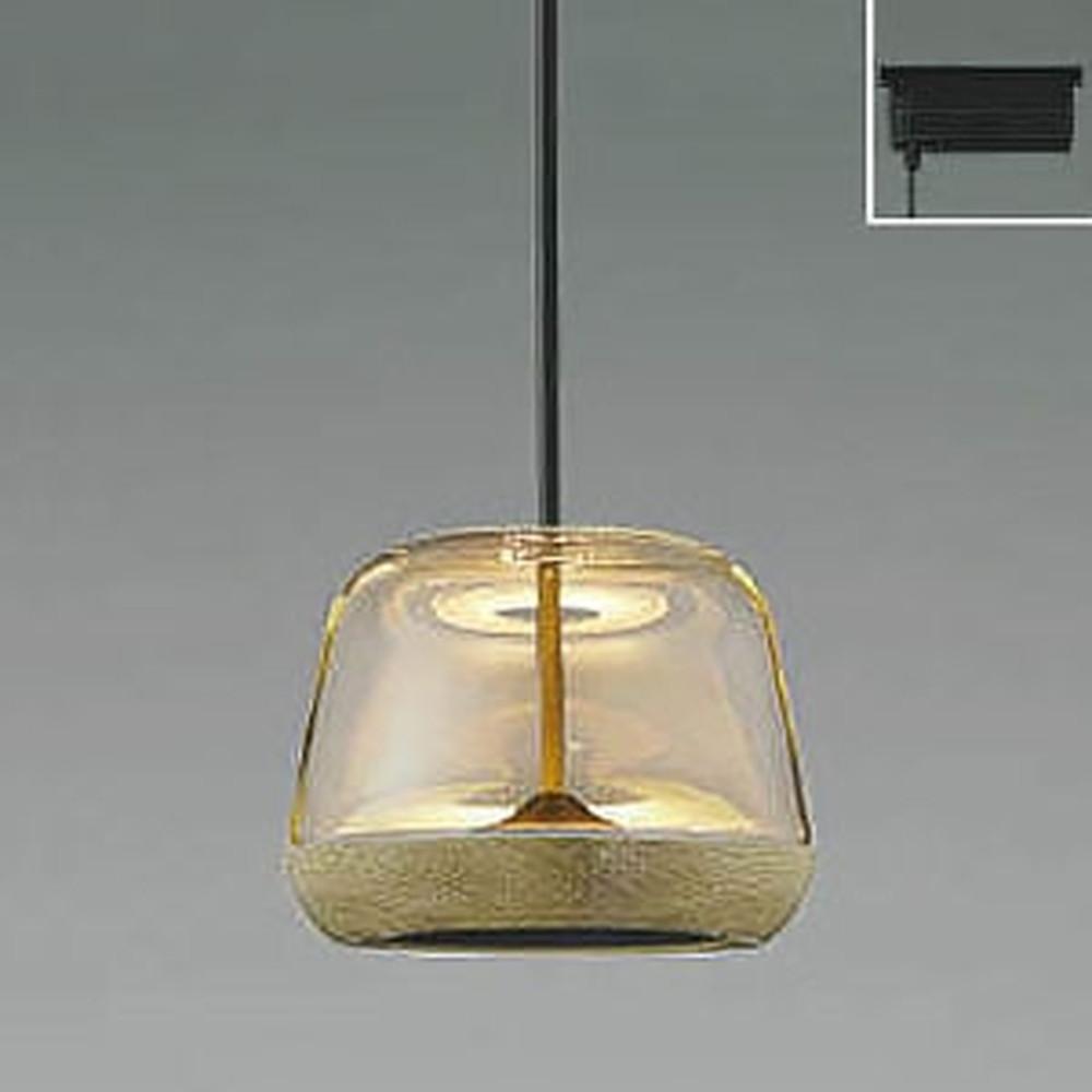 コイズミ照明 LED一体型ペンダントライト 《Clear×Oak》 ライティングレール取付専用 白熱球60W相当 電球色 AP47553L