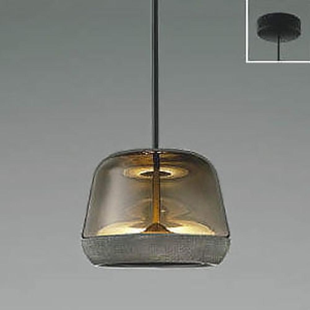 コイズミ照明 LED一体型ペンダントライト 《Gray×Grayish Oak》 フランジタイプ 白熱球60W相当 電球色 AP47555L