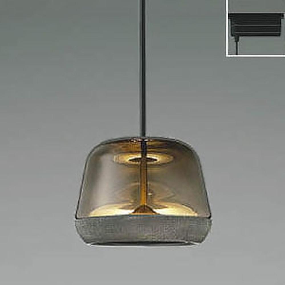 コイズミ照明 LED一体型ペンダントライト 《Gray×Grayish Oak》 ライティングレール取付専用 白熱球60W相当 電球色 AP47556L