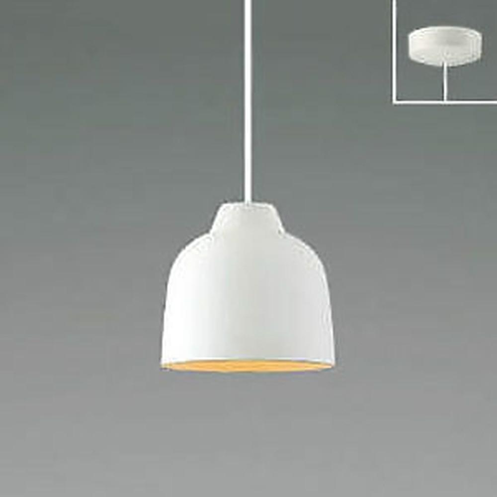 コイズミ照明 LED一体型ペンダントライト 《MICROSCOLOR》 フランジタイプ 白熱球60W相当 電球色 調光タイプ マットファインホワイト AP47585L