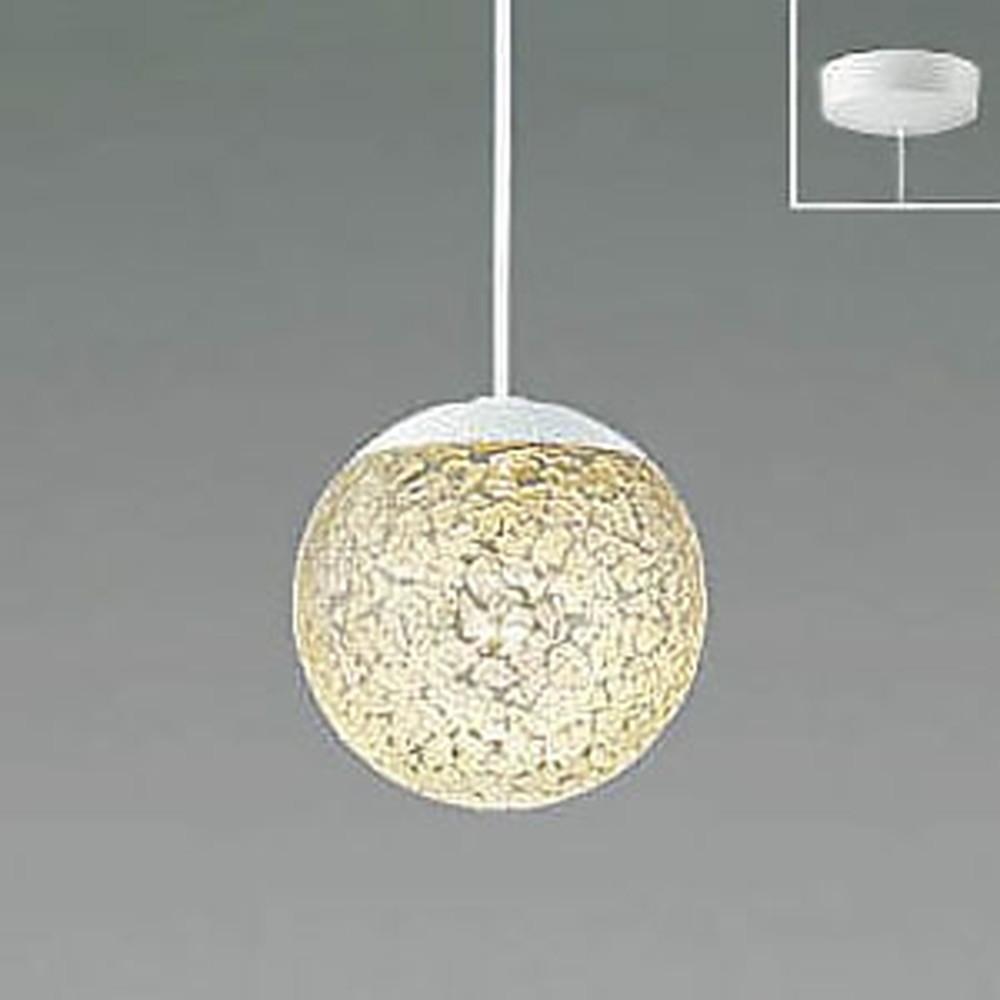 コイズミ照明 LED一体型ペンダントライト 《MICROSGLASS》 フランジタイプ 白熱球60W相当 電球色 調光タイプ 透明 AP47613L