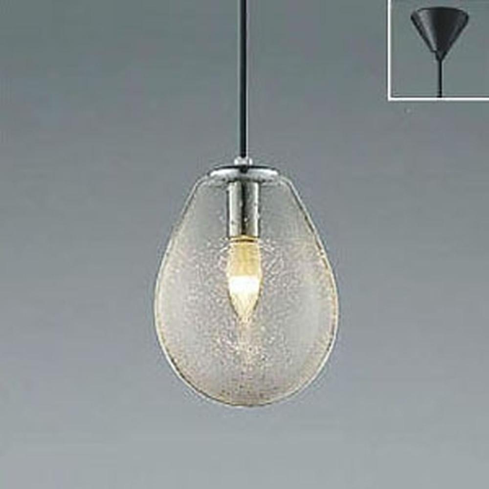 コイズミ照明 LEDペンダントライト フランジタイプ 白熱球60W相当 電球色 透明泡入 AP47834L