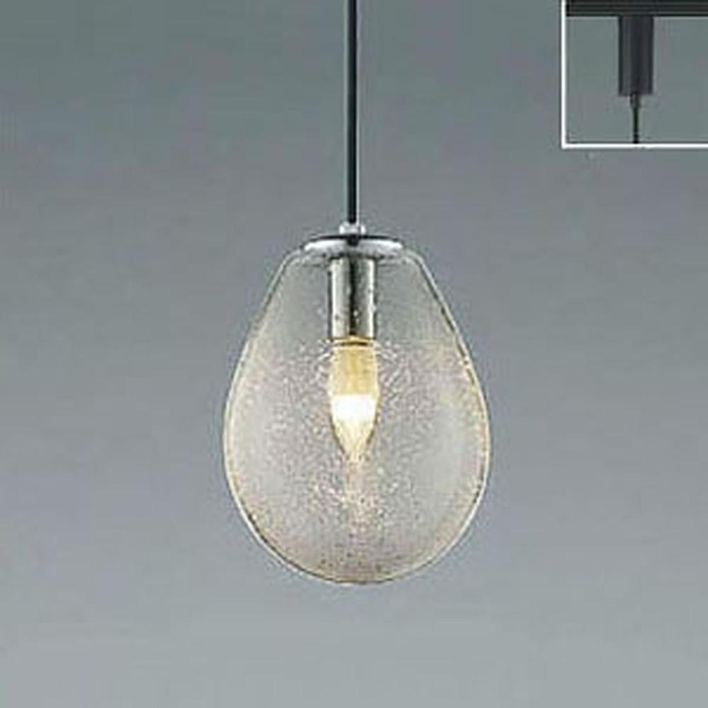 コイズミ照明 LEDペンダントライト ライティングレール取付専用 白熱球60W相当 電球色 透明泡入 AP47835L