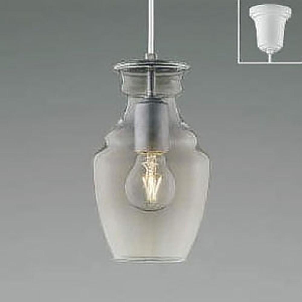 コイズミ照明 LEDペンダントライト 《L-SLOW》 白熱球40W相当 電球色 シルバー AP48717L