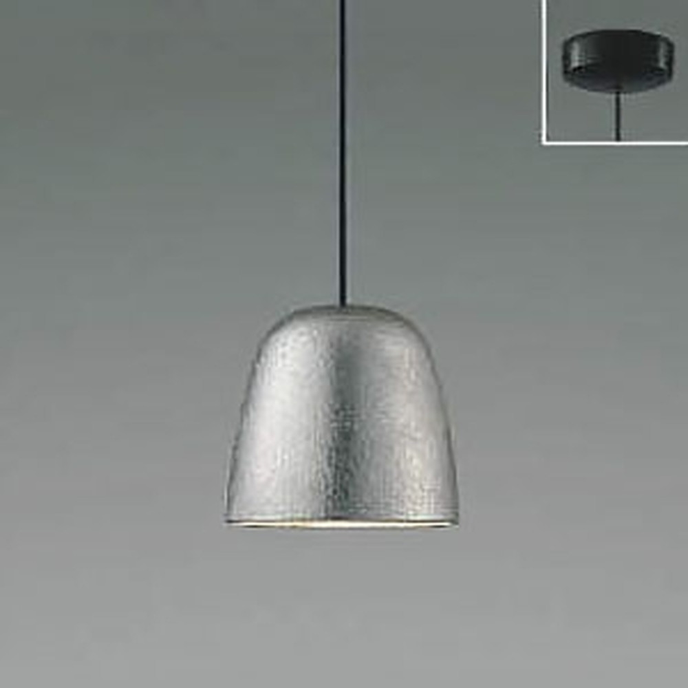 コイズミ照明 LED一体型ペンダントライト 《MICROS錫》 フランジタイプ 白熱球60W相当 電球色 調光タイプ AP48720L