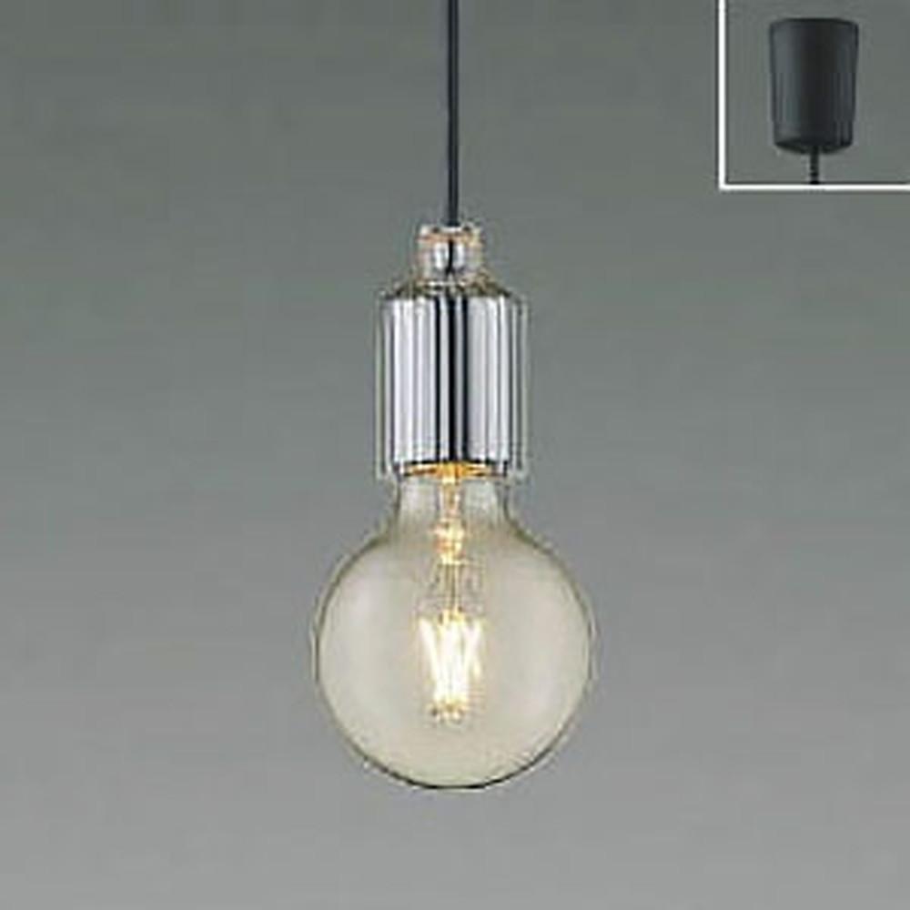 コイズミ照明 LEDペンダントライト 《Filam》 引掛シーリングタイプ 白熱球40W相当 電球色 クロム AP49028L