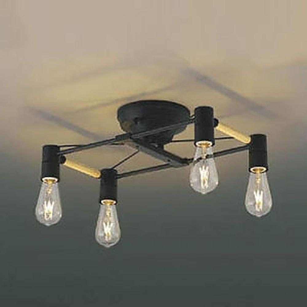 コイズミ照明 LEDシャンデリア 《Risro》 白熱球40W×4灯相当 電球色 AA49037L