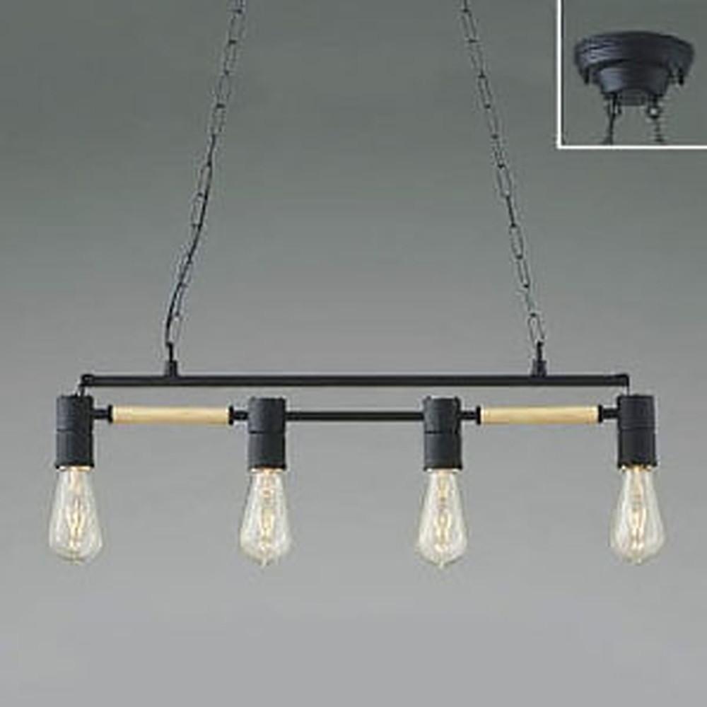 コイズミ照明 LEDペンダントライト 《Risro》 白熱球40W×4灯相当 電球色 AP49038L
