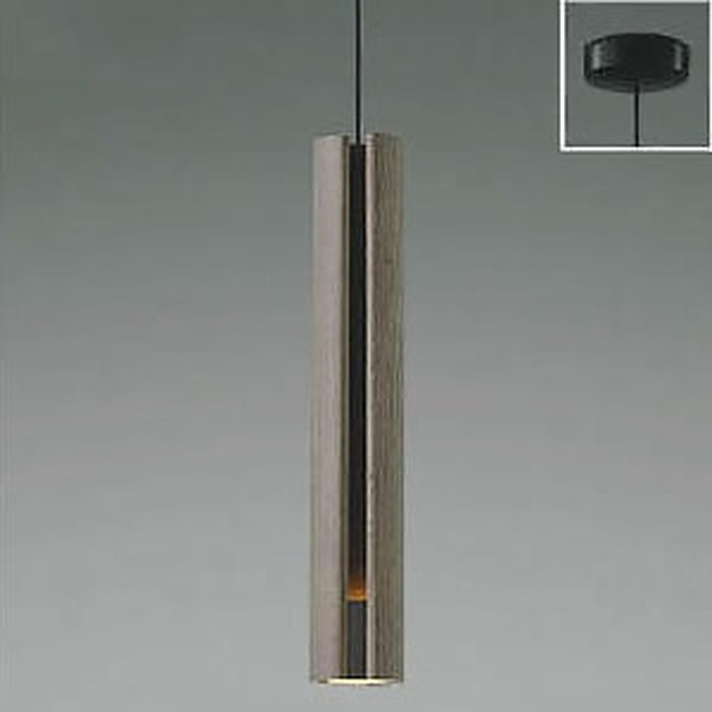 コイズミ照明 LED一体型ペンダントライト 《SLITO》 フランジタイプ 白熱球60W相当 電球色 グレイッシュオーク AP49281L