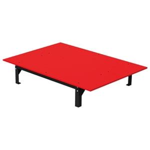 ジェフコム バンキャビネット テーブルタイプ 幅1400×奥行1000×高さ265mm SCT-T09