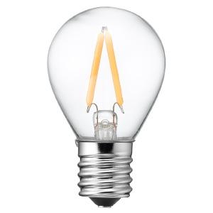 ヤザワ 【ケース販売特価 10個セット】 LED電球 S35ミニランプ形 クリアタイプ 15W形相当 電球色 口金E17 LDA1LG35E17C_set