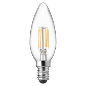 ヤザワ 【ケース販売特価 10個セット】 LED電球 C32シャンデリア形 クリアタイプ 25W形相当 電球色 口金E14 LDC2LG32E14C_set