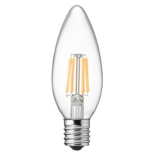 ヤザワ 【ケース販売特価 10個セット】 LED電球 C32シャンデリア形 クリアタイプ 25W形相当 電球色 口金E17 LDC2LG32E17C_set