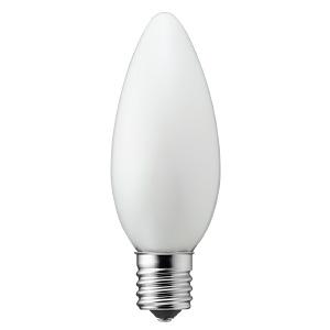 ヤザワ 【ケース販売特価 10個セット】 LED電球 C32シャンデリア形 ホワイトタイプ 25W形相当 電球色 口金E17 LDC2LG32E17WH_set