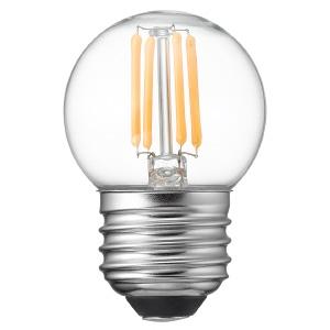 ヤザワ 【ケース販売特価 10個セット】 LED電球 G40ボール形 クリアタイプ 25W形相当 電球色 口金E26 LDG2LG40C_set