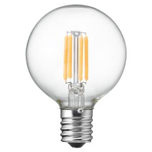 ヤザワ 【ケース販売特価 10個セット】 LED電球 G50ボール形 クリアタイプ 25W形相当 電球色 口金E17 LDG2LG50E17C_set