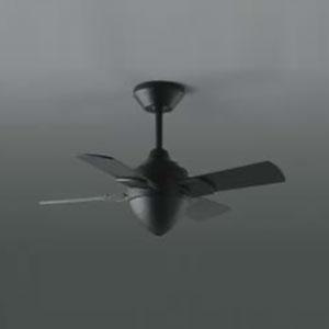 コイズミ照明 シンプルファン本体 灯具なしタイプ φ700mm リモコン付 黒 《T-シリーズ》 AEE695079