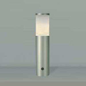 コイズミ照明 LEDガーデンライト 防雨型 高さ400mm 白熱球60W相当 電球色 ウォームシルバー AUE664130