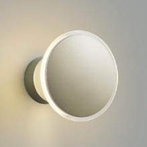 コイズミ照明 LEDブラケットライト 防雨型 光害対策タイプ 天井・壁面取付用 白熱球40W相当 電球色 ウォームシルバー AU35028L