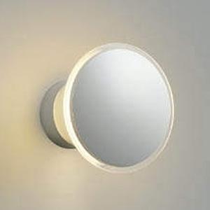 コイズミ照明 LEDブラケットライト 防雨型 光害対策タイプ 天井・壁面取付用 白熱球40W相当 電球色 シルバーメタリック AU35029L