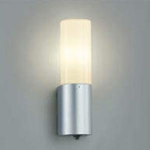 コイズミ照明 LEDポーチ灯 防雨型 白熱球60W相当 電球色 タイマー付人感センサ付 AU35219L
