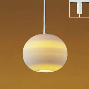 コイズミ照明 LED和風ペンダントライト 《透陽》 ライティングレール取付専用 白熱球60W相当 電球色 AP35770L