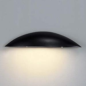 コイズミ照明 LED表札灯 防雨型 白熱球60W相当 電球色 黒 AU35839L