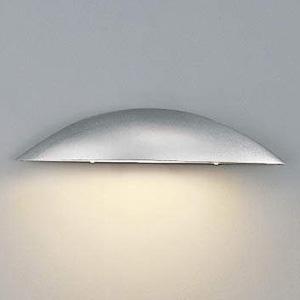 コイズミ照明 LED表札灯 防雨型 白熱球60W相当 電球色 シルバーメタリック AU35840L