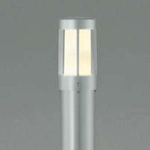 コイズミ照明 LEDガーデンライト 防雨型 高さ1055mm 白熱球40W相当 電球色 シルバーメタリック AU36224L