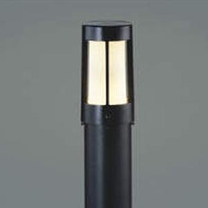 コイズミ照明 LEDガーデンライト 防雨型 高さ655mm 白熱球40W相当 電球色 黒 AU36225L