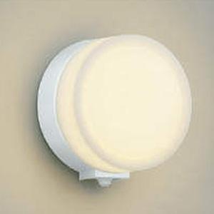 コイズミ照明 LED一体型ポーチ灯 防雨型 白熱球60W相当 電球色 マルチタイプ人感センサ付 白 AU38131L