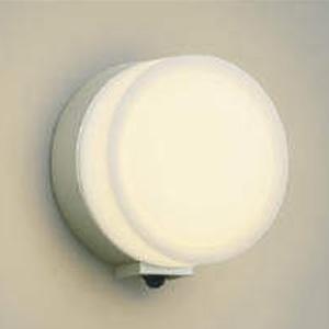 コイズミ照明 LED一体型ポーチ灯 防雨型 白熱球60W相当 電球色 マルチタイプ人感センサ付 ウォームシルバー AU38134L